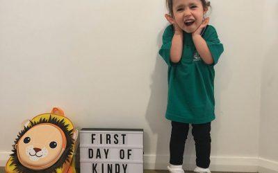 Piper Starts School